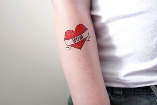 I love mom temporary tattoo