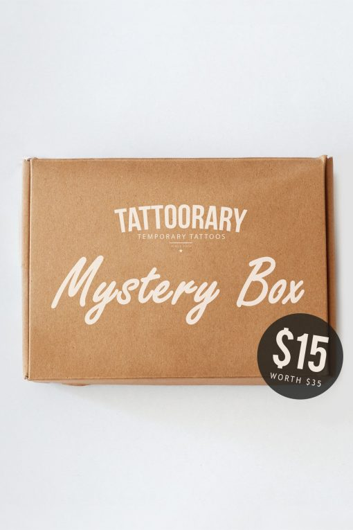 Mystery box - $35 worth of tattoos for just $15!