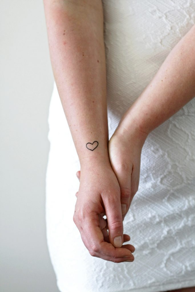 small temporary tattoos