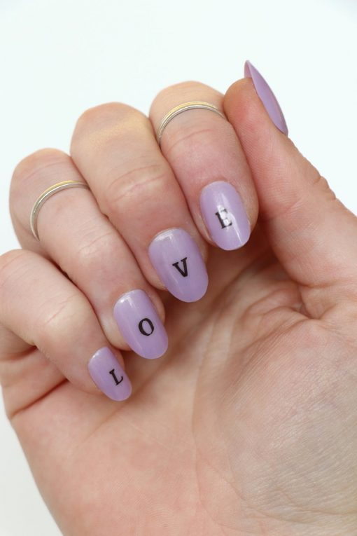alphabet nail decals letter nail stickers 3