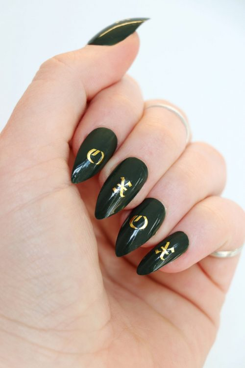 old english alphabet nail decals letter nail stickers